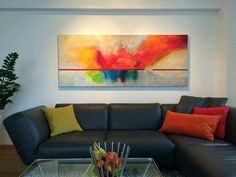 Frauke Nees — ART Couch, Artist, Painting, Furniture, Home Decor, Abstract, Painting Abstract, Settee, Decoration Home