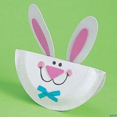 Easter Preschool Bunny Craft Kit For Kids Craft Kits For Kids, Easter Crafts For Kids, Toddler Crafts, Preschool Crafts, Rabbit Crafts, Bunny Crafts, Paper Plate Crafts, Paper Plates, Spring Crafts