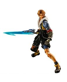 Final Fantasy X HD Figur Tidus 26cm Play Arts Kai - Final Fantasy 10 + 10-2