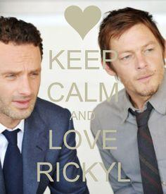 Andrew Lincoln ( Rick Grimes)  & Nomran Reedus (Daryl Dixon), The Walking Dead