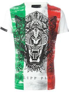 PHILIPP PLEIN 'Italian Job' T-Shirt. #philippplein #cloth #t-shirt