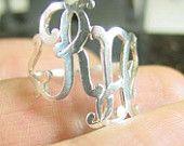 initial monogram ring