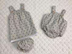 Ropita de bebe patrones ➡️ #ohmotherminediy  creación de jessica Bosch para mis mellizos
