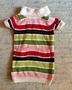 The Cheapest Price Nwt Gymboree Girls Woodland Wonder Bear Striped Skirt Size 18-24 M Available In Various Designs And Specifications For Your Selection Skirts