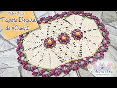 Tapete Doçura de #crochê- Artes da Desi - YouTube