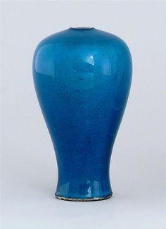 18c Chinese Apple Green Glazed Cylinder Vase A Nice