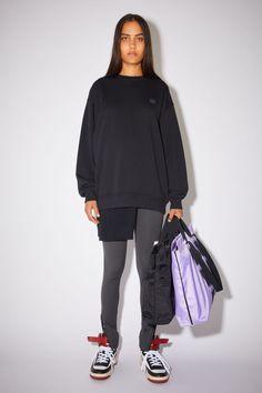 Crew neck sweatshirt Direct Marketing, Studio S, Acne Studios, Female Models, Crew Neck Sweatshirt, Organic Cotton, Rain Jacket, Windbreaker, Normcore