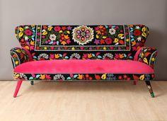 Suzani 3-Sitzer-Sofa  Frühling von namedesignstudio auf Etsy