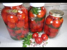 Reteta Rosii cu usturoi pentru iarna - YouTube Canning Pickles, Pickling Cucumbers, Healthy Tips, Conservation, Preserves, Vegetables, Recipes, Food, Youtube