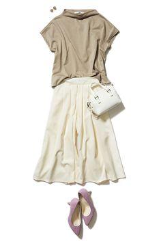 """この春の最旬トレンド""""スカーチョ""""は万能ホワイトで取り入れましょう! ― B - ファッションコーディネート通販 ビストロ フラワーズ トウキョウ"""