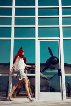 Airport Fashion Editorial By Jamie Nelson