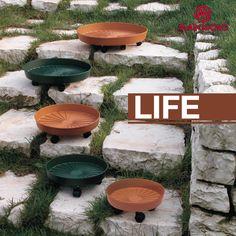 #LIFE Sottovasi con ruote.  #lineagarden #marchioro