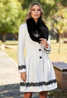 Paltoane De Iarna - Modele Cambrate Largi - Ce se poarta in iarna 2020 Waist Skirt, High Waisted Skirt, Lunges, Skirts, Shopping, Fashion, Embroidery, Moda, Fashion Styles