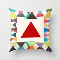 Natal Throw Pillow by TT+SMITH by Haina - $20.00