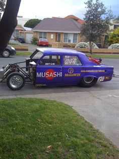 Our work car!  ADRP.  Australian Drag Racing Promotions.