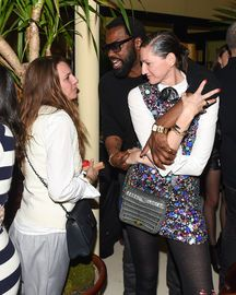 Courtney Crangi, Jenna Lyons, Stephen Galloway at FRAME DENIM: 3RD ANNIVERSARY More