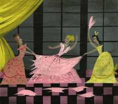 Visual Development from Cinderella by Mary Blair