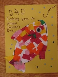 father's day kindergarten art