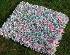 rag rug made from old t shirts