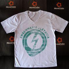 Camisas Universitárias para estudantes e afins. Acesse o site e veja todos os modelos: www.moveclube.com.br