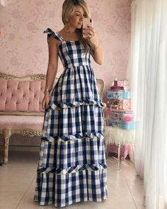 Mom Style, Love Fashion, Tartan, Gingham, Beautiful Dresses, Baileys, Outfits, Clothes, Color