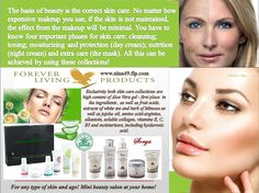 The basis of beauty is the correct skin care. Aloe Fleur de Jouvence and Sonya skin care collections include know four important phases for skin care: cleansing; toning; moisturizing and protection (day cream); Nutrition (night cream) and extra care (the mask). Order at www.nina49.flp.com Expensive Makeup, Forever Aloe, Forever Living Products, Take The First Step, Young And Beautiful, Skin Care Regimen, Aloe Vera, Healthy Skin, Your Skin