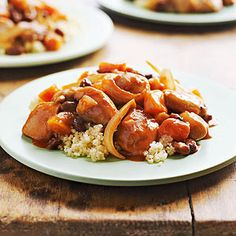 slow-cooker chicken tagine