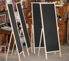 custom craft/farmer's market chalkboards . . .