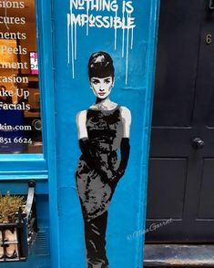 Audrey Hepburn in Soho