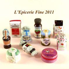 【フェーブ】L'EPICERIE FINE フランス食材 10個 - 2011年 (S) -