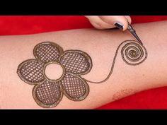 bharma full hand eid special henna mehndi design || bridal mehndi design || latest henna design 2020 - YouTube Very Simple Mehndi Designs, Latest Henna Designs, Full Hand Mehndi Designs, Bridal Mehndi Designs, Bridal Henna, Mehndi Tattoo, Mehndi Art, Henna Mehndi, Mehndi Ka Design