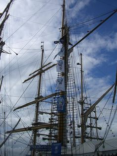 Tall Ships, Hartlepool, England.