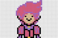 Adventure Time Prince Gumball Pixel Art