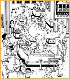 printable hidden picture puzzles download free printable hidden object puzzles dinosaur museum clipart 14 - Printable Pages Hidden Object Puzzles, Hidden Picture Puzzles, Hidden Objects, Coloring Pages For Boys, Colouring Pages, Road Trip Activities, Activities For Kids, Hidden Pictures Printables, Highlights Hidden Pictures