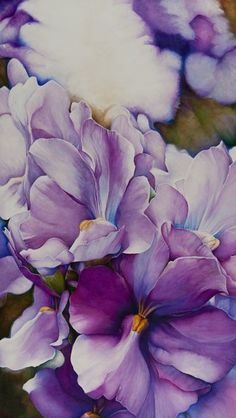 'Flames of Violet' by Lynne harks at www.creativeartsgallery.com