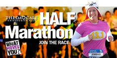 ThedaCare Orthopedics Plus Half Marathon-9/22/13 This was my first marathon in 2010, this time I'm running the half.