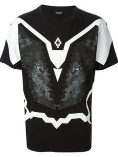Marcelo Burlon County Of Milan Animal Graphic Print T-shirt - Bernardelli - Farfetch.com