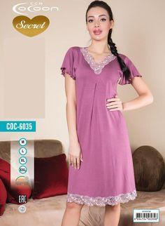 Maxi Dress With Sleeves, Short Sleeve Dresses, Nightwear, Night Gown, Body, Designer Dresses, Pajamas, Casual, Summer Dresses
