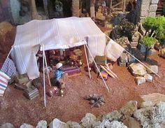 álbumes de fotos Belem, Bethlehem, Tents, Portal, Nativity, Studio, Cool Stuff, Christmas, Crafts