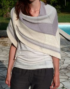 Douceur by Mademoiselle C.  Free pattern on Ravelry.