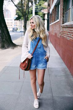 Overalls outfit ideas spring fashion