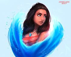 Moana by JohnnyAzad.deviantart.com on @DeviantArt