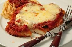 Chicken parma is my favourite food I love it <3