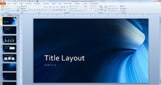 microsoft presentation templates