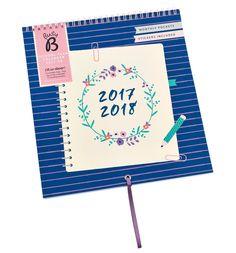 Busy B School Year Calendar August 2017 to 2018