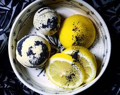 Ginger-Lemon Detox Bath Bomb | Organic Coconut Oil | Aromatherapy, Sore muscle soak, Moisturizing Bath Fizz Citrus Spice Activated Charcoal... #MuddyRootsWellness Muddy Roots Wellness Bath Bombs $3.00 #BathBomb