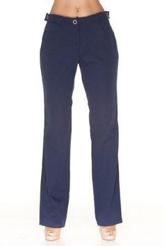 Emporio Armani BLUE Cotton Pants Trousers, 46, Blue Emporio Armani. $97.50