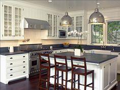 american foursquare interiors | simple but elegant kitchen.