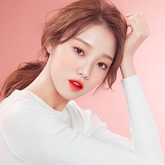 The beauty secret of Asian women is essentially based on phar . Lee Sung Kyung, Korean Makeup Look, Weightlifting Fairy Kim Bok Joo, Laneige, Model Face, Korean Actresses, Korean Celebrities, Matte Lips, Beauty Secrets