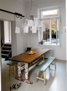 The kitchen with an atmosphere. Dining Table, Kitchen, Furniture, Home Decor, Cooking, Decoration Home, Room Decor, Dinner Table, Kitchens